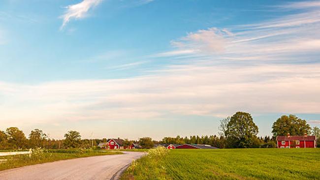Cycling in idyllic Småland.