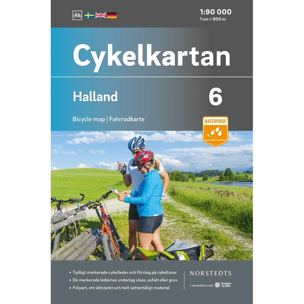 Cykelkartan 6 Halland