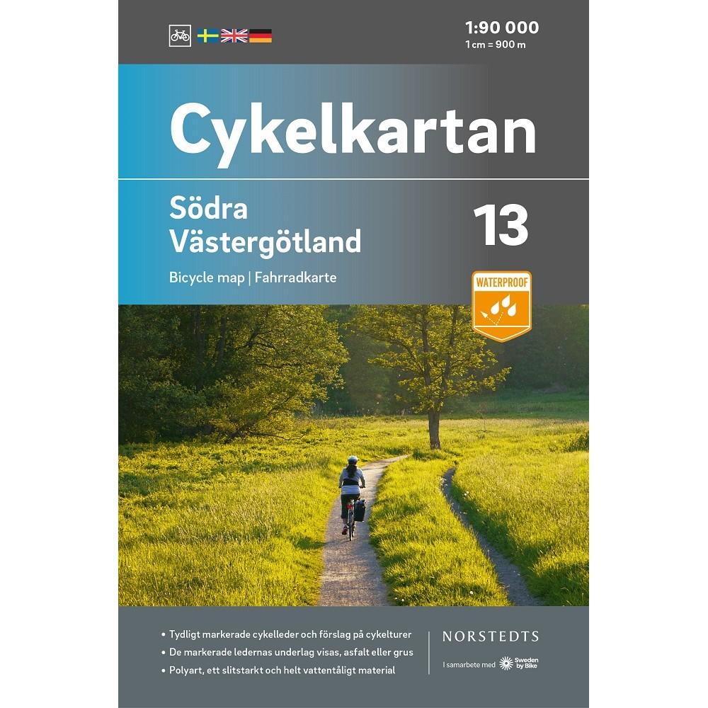 Cykelkartan 13 Södra Västergötland
