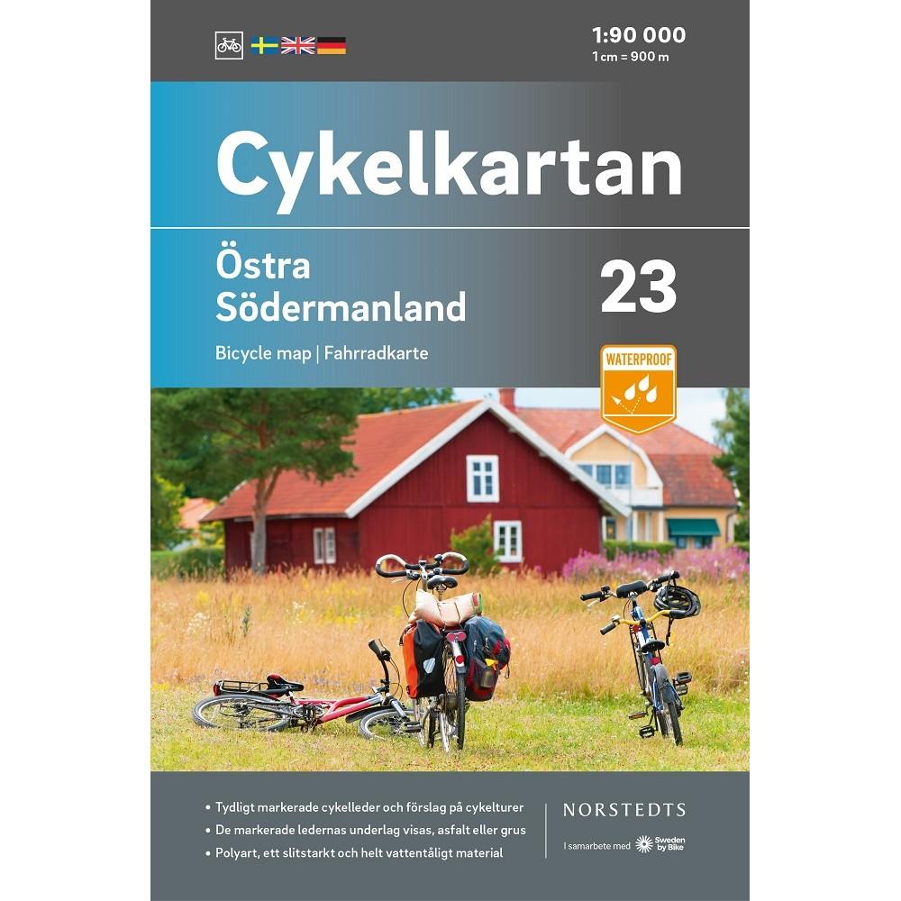 Cykelkartan 23 Östra Södermaland
