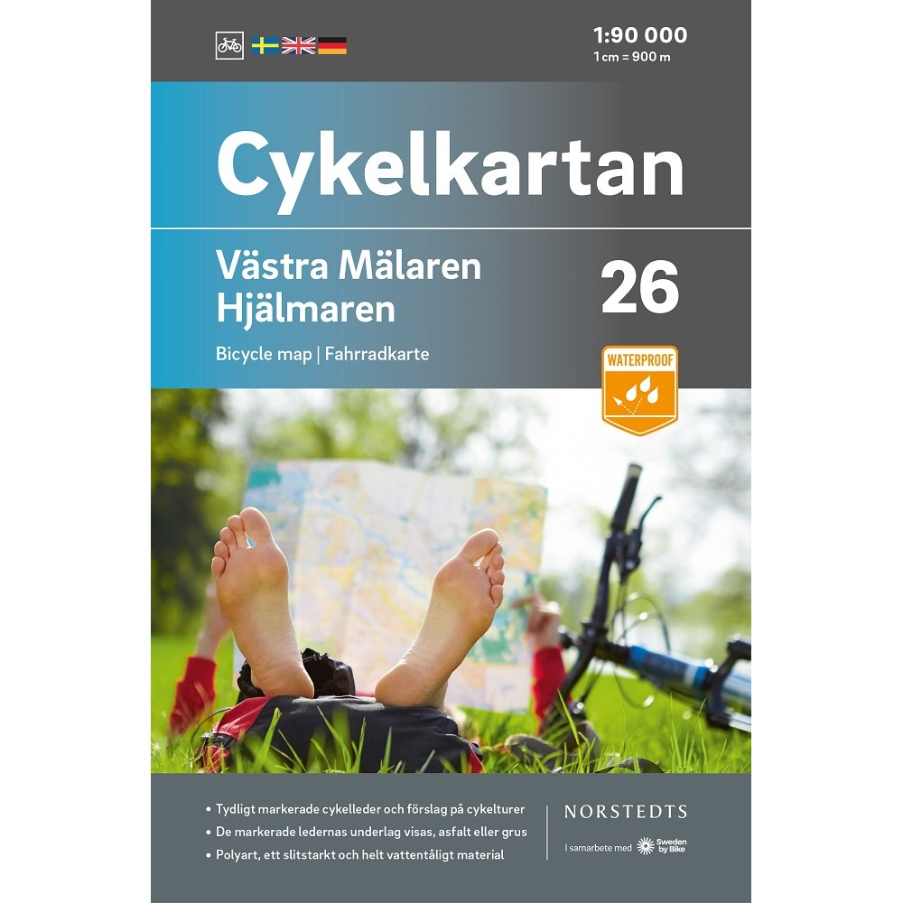 Cykelkartan 26 Västra Mälaren/Hjälmaren