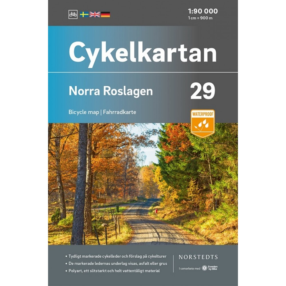 Cykelkartan 29 Norra Roslagen