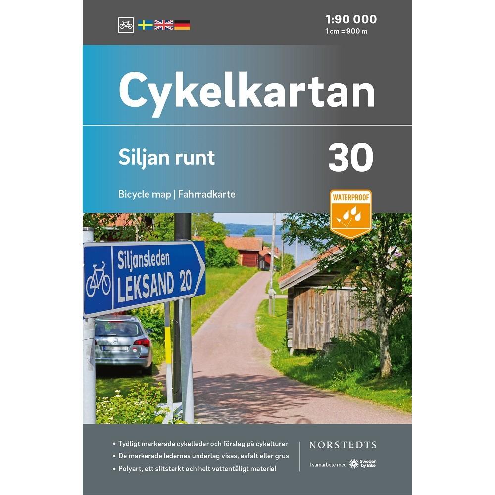 Cykelkartan 30 Siljan Runt
