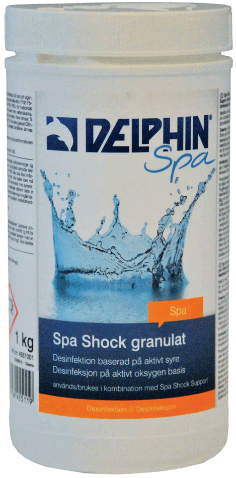Delphin Spa Shock Granulat Aktivt Syre