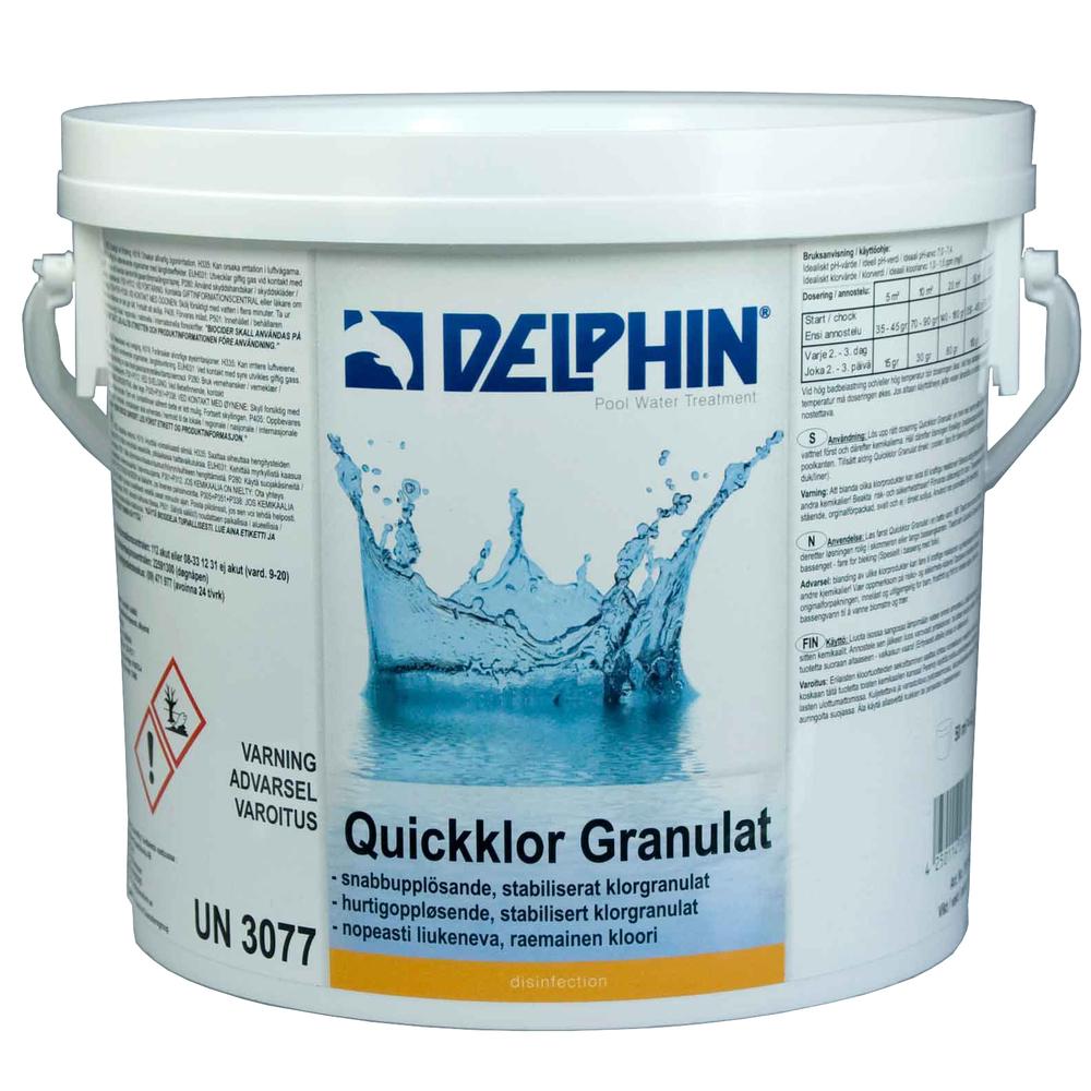 Delphin Pool Quickklor Granulat