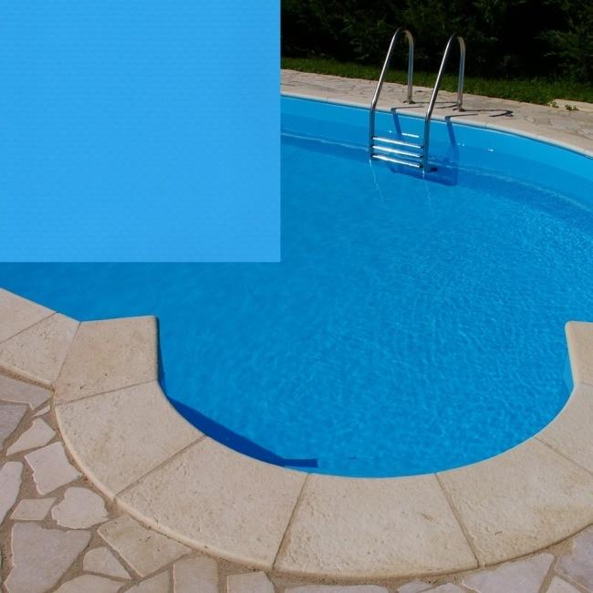 Blå liner pool