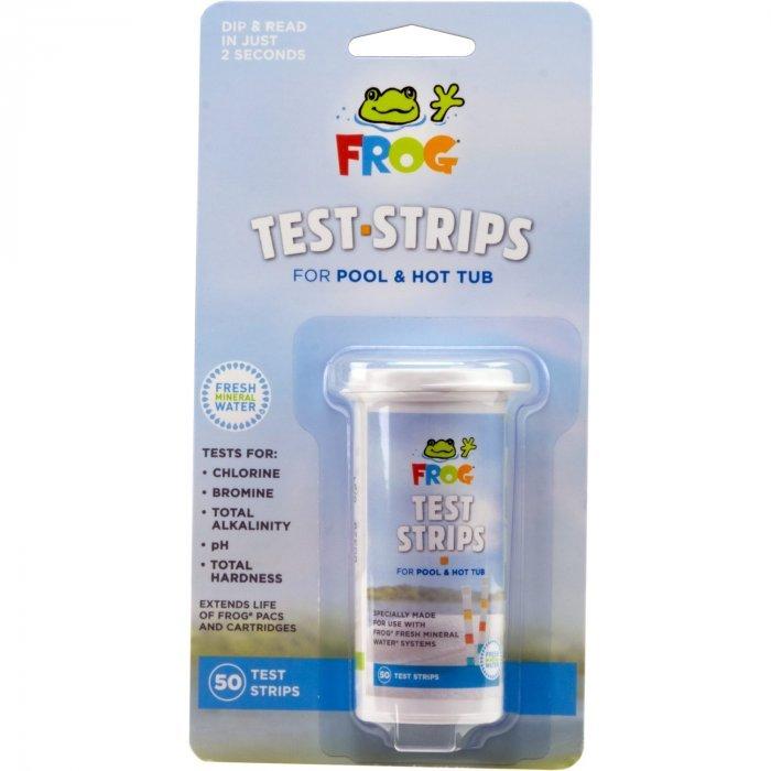 spa frog test strips