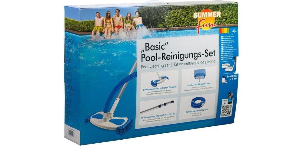 set för bottensug rengöring pool