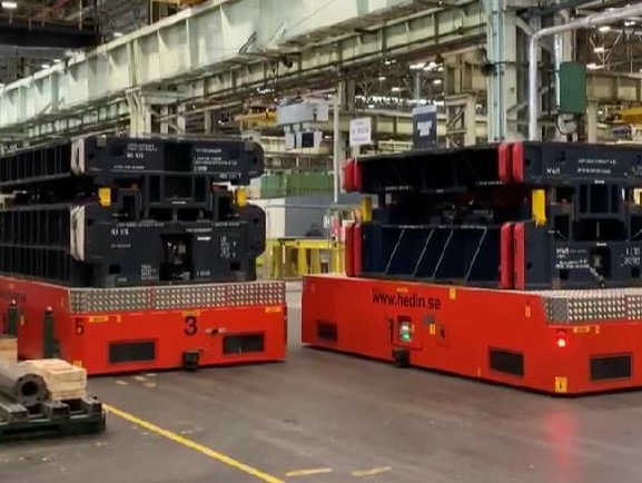 Automated Guided Vehicle Die Truck