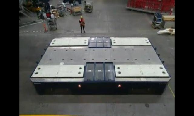 500 ton Nacelle transporter