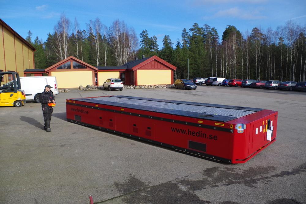 Transformer Transporter Truck