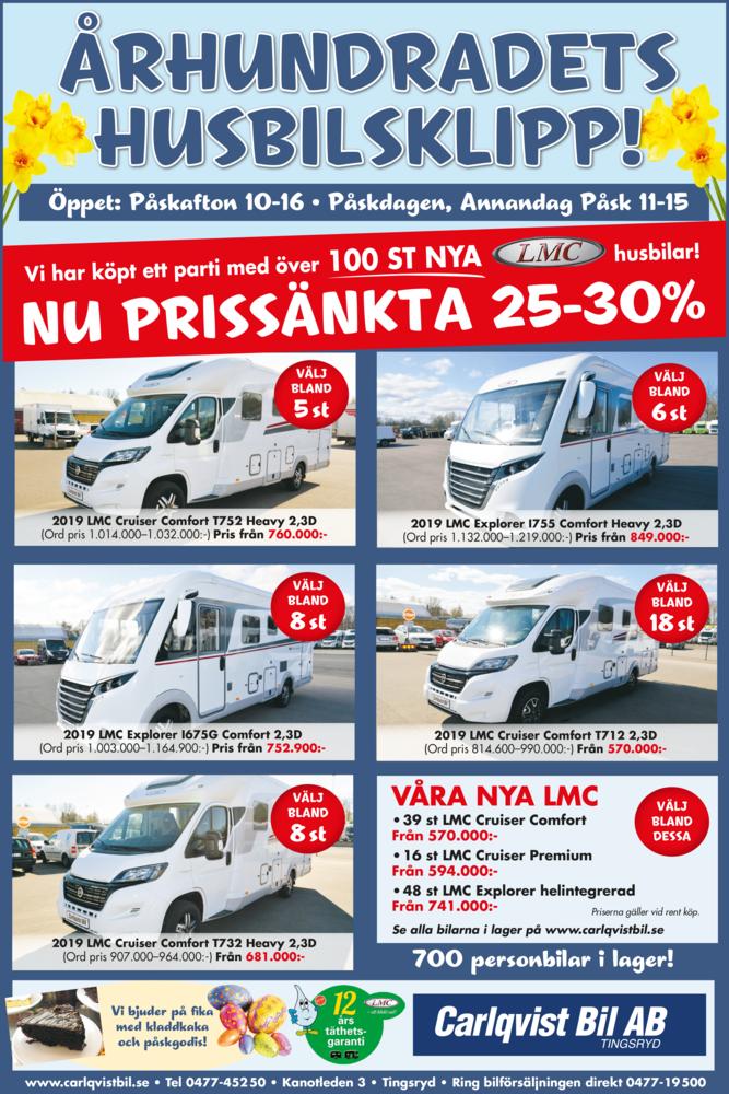 Begagnade Bilar Säljes Carlqvist Bil