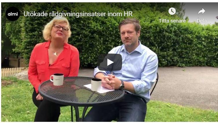 Utökade rådgivningsinsatser till krisdrabbade företag - Human Solutions utsedda att sköta HR-spåret