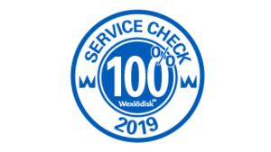 100% Service check