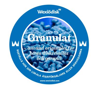 Wexiödisk Granulat emblem