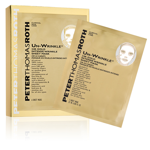 Un-Wrinkle 24K Gold intense sheet mask