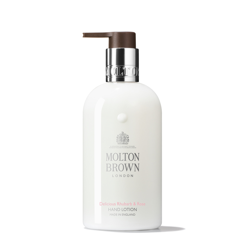 Delicious Rhubarb & Rose Fine Liquid Hand Lotion