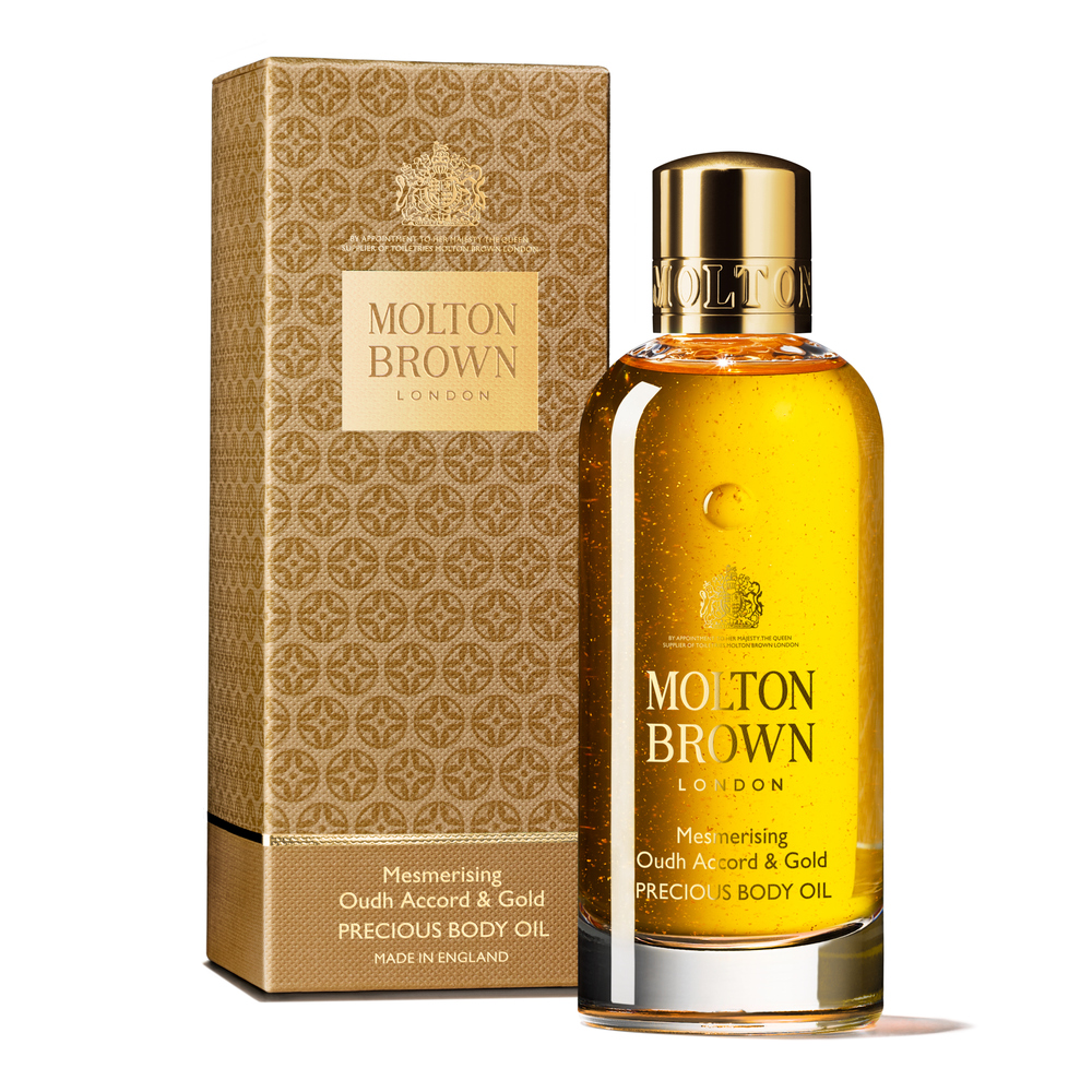 Mesmerising Oudh Accord & Gold Body Oil