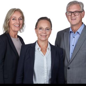 Bente Boger, Eva-Maria Fahrer and Kolbjørn Havnes