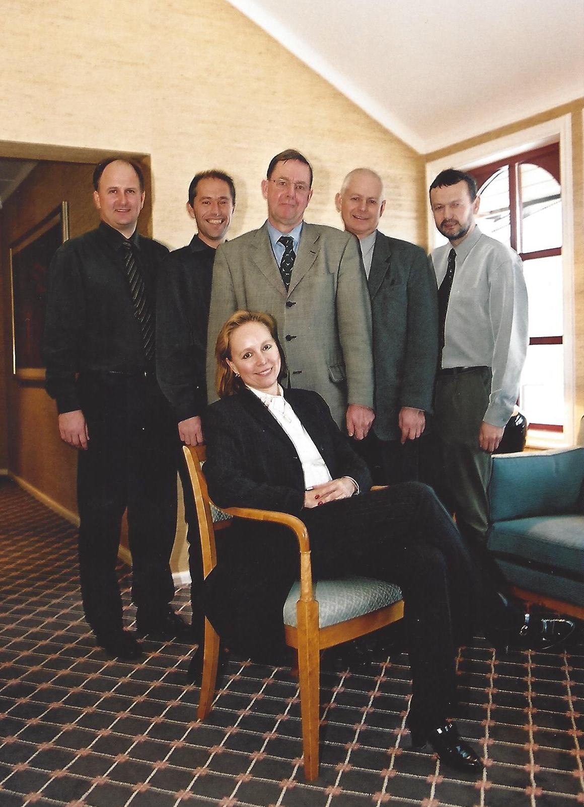 SBN CLT 1997 Morten Moa, Rune Johansen, Andries van Bruggen, Arvid Kirkemo, Bernt Bakken Eva-Maria Fahrer