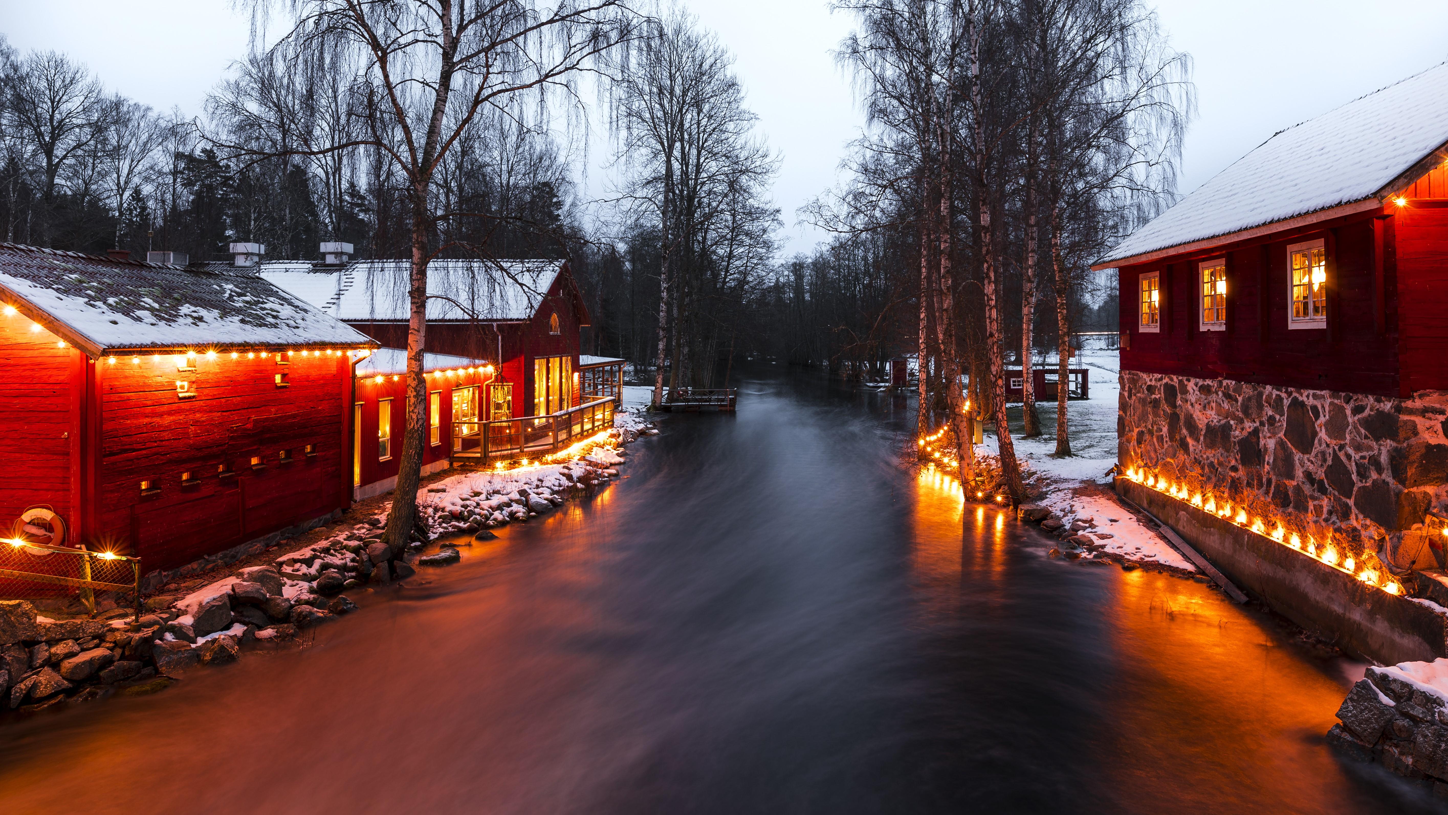 Winter at Korrö