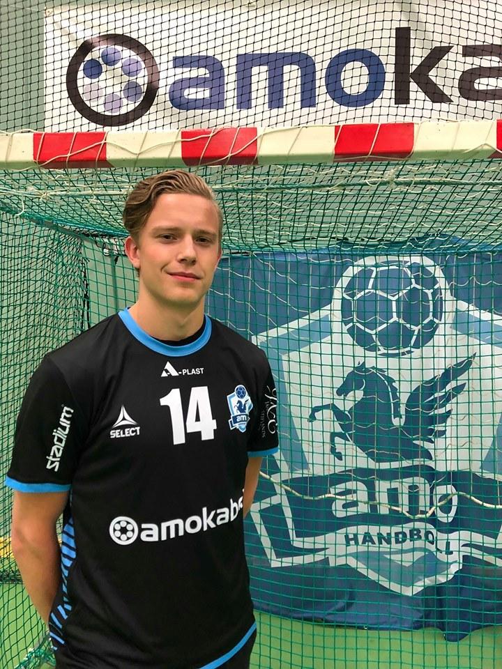 Patrik Sandberg klar för Amo Handboll.