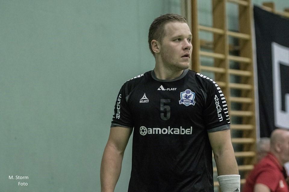 Philip Kjellander är tillbaka i Amo Handboll