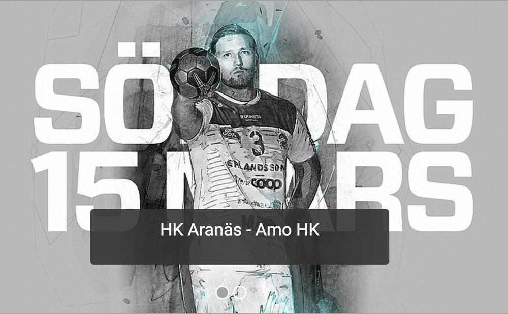 Säsongens sista match, HK Aranäs borta