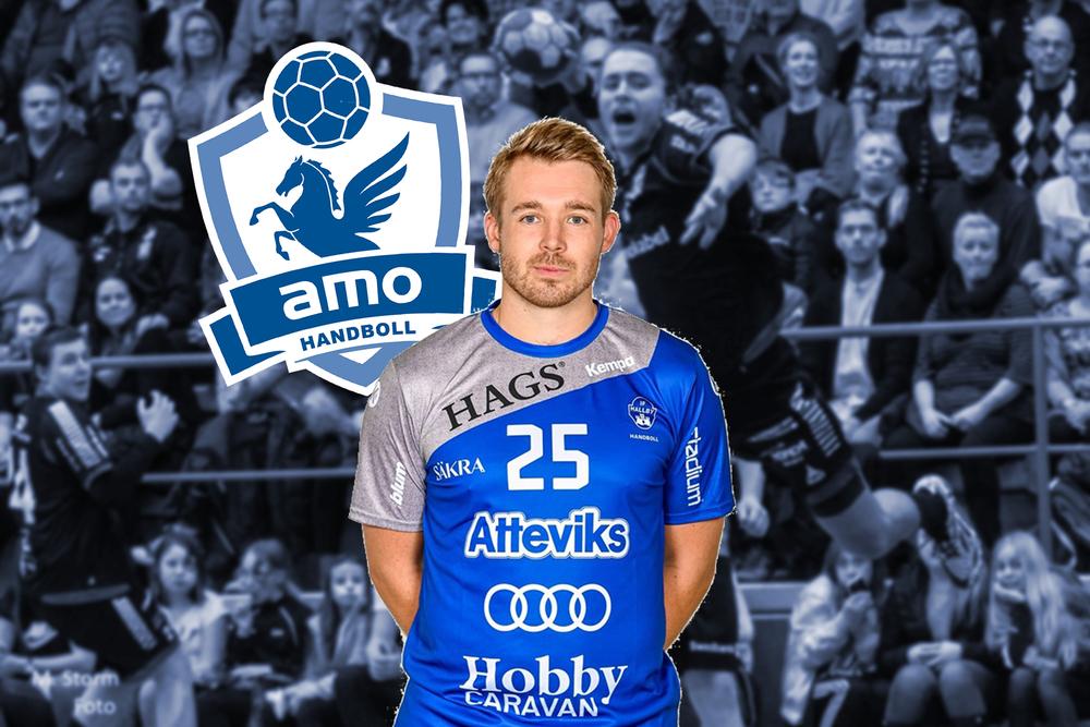 Välkommen till Amo HK, Johan Jonsson!
