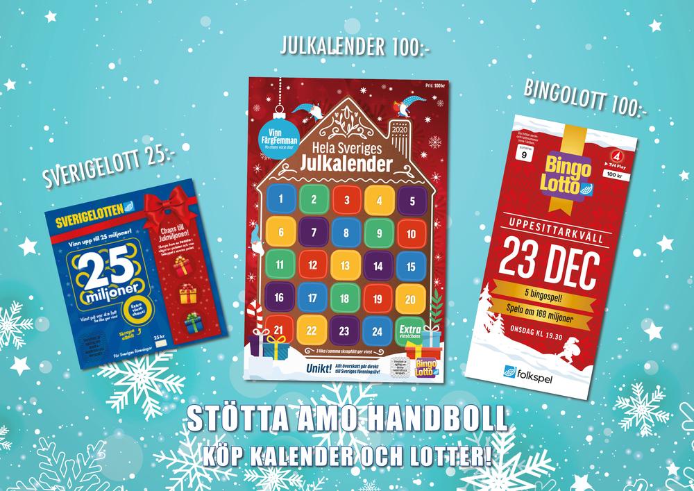 Kalender och lotter!