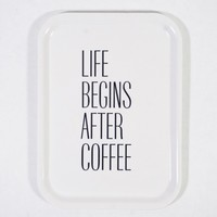 Mellow design Bricka Life begins after coffe