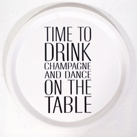 Mellow design Time to drink champagne...