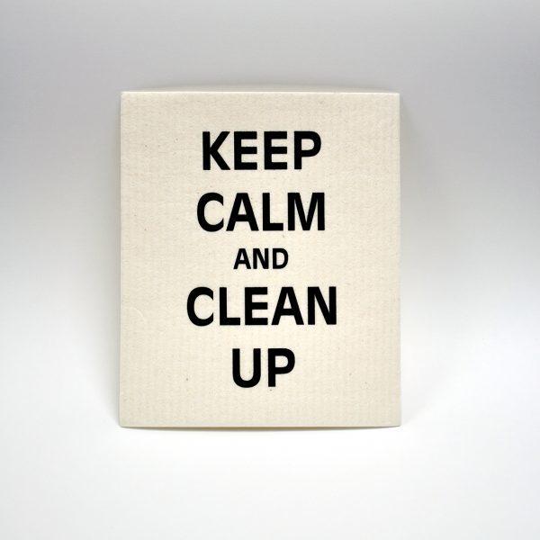 Mellow design disktrasa Ceep calm and clean up