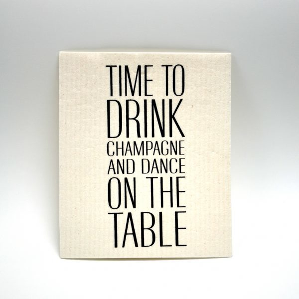 Mellow design disktrasa Time to drink champagne.....