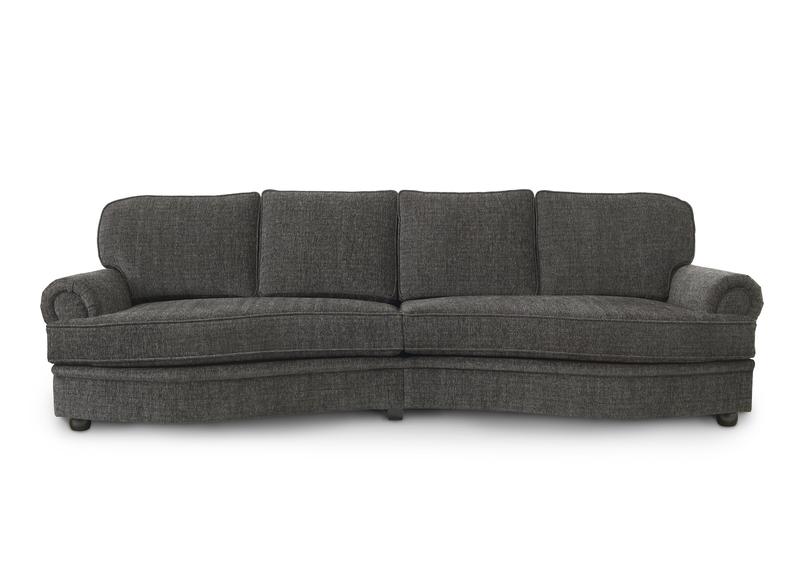 Möbelform Amore 3-sits soffa m svängda sittdynor