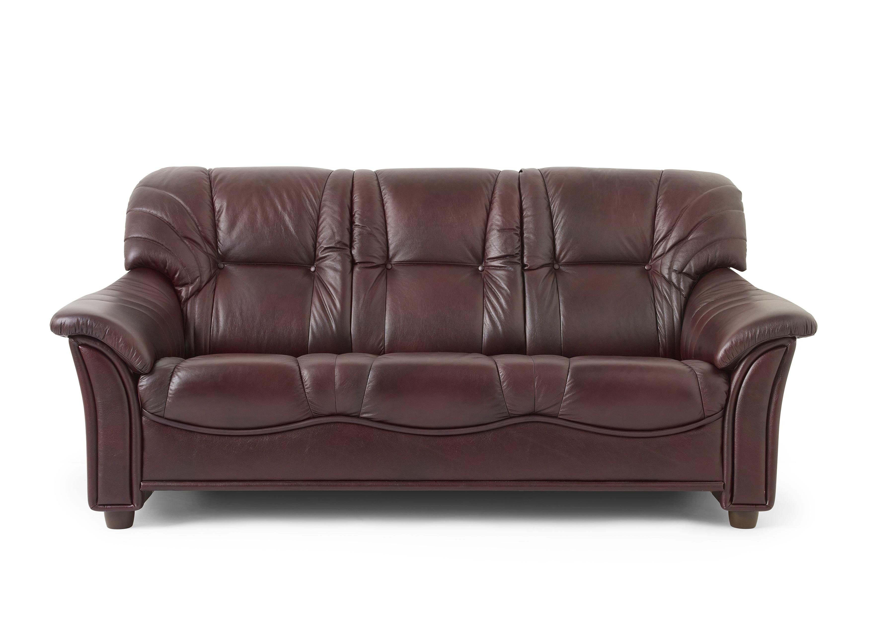 Möbelform Roma 3-sits soffa skinn