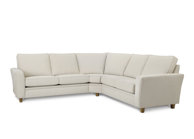 Möbelform Modena 22 rund hörnsoffa