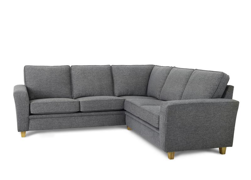 Möbelform Modena 22 rak hörnsoffa