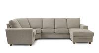 Möbelform Pluz byggbar soffa tyg.