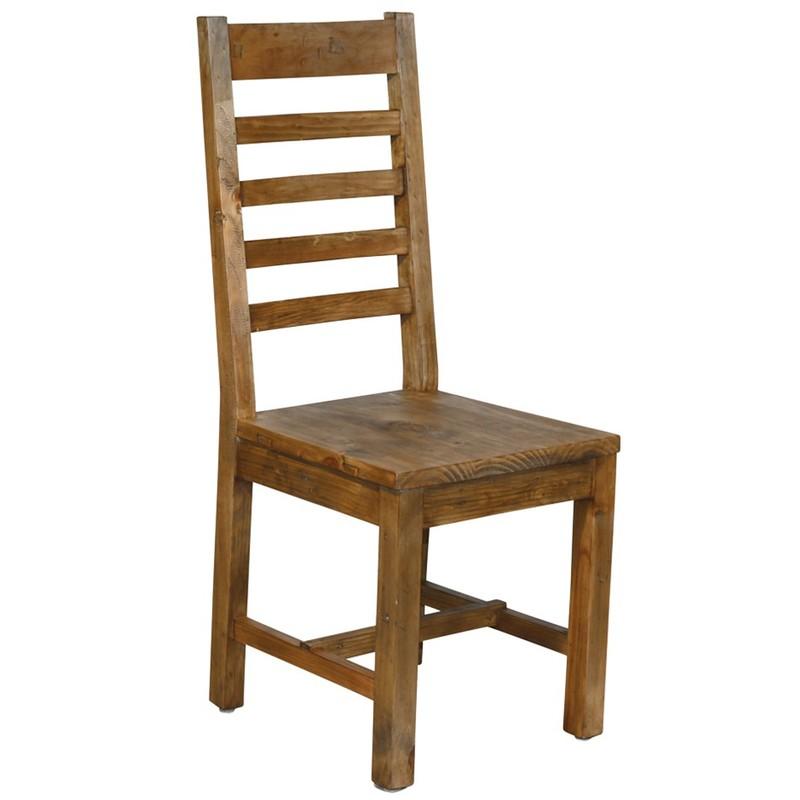 Oregon stol liggande ribbor