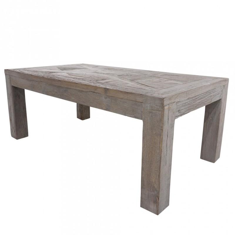 Bretagne matbord grå