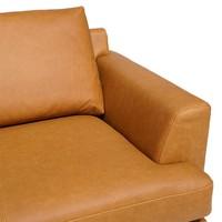 Dante 3-sits soffa i läder