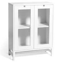 Mavis Falsterbo vitrinskåp 90 cm vit