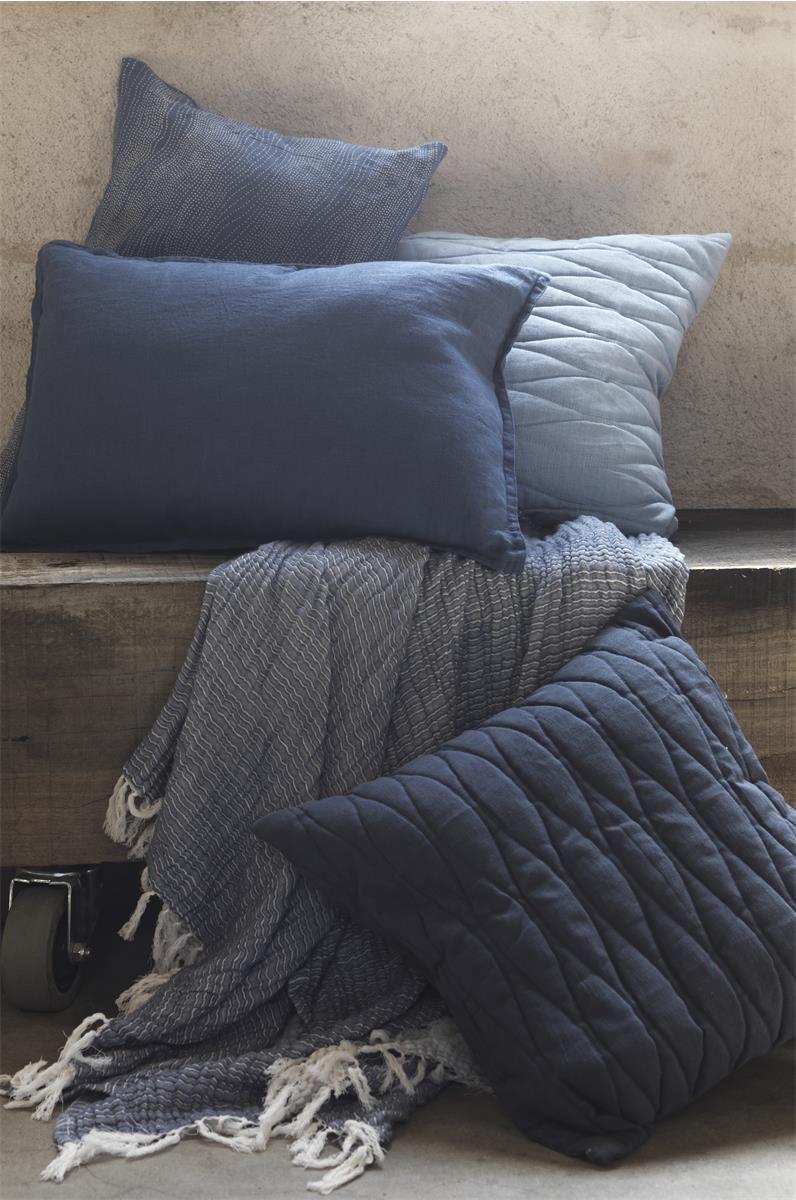 Gripsholm pläd bomull 130x170 cm