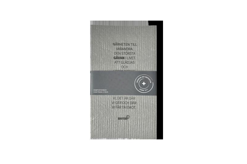 Grafitgrå Disktrasa 2-pack