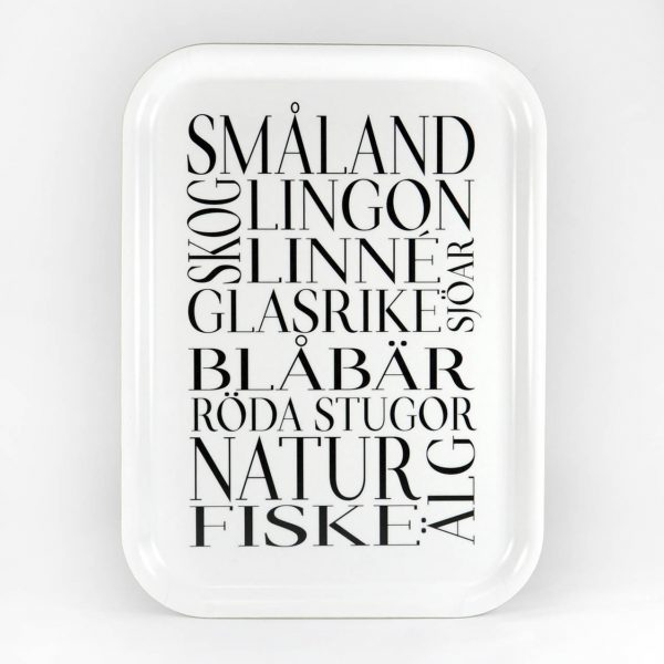 Mellow design bricka Småland....
