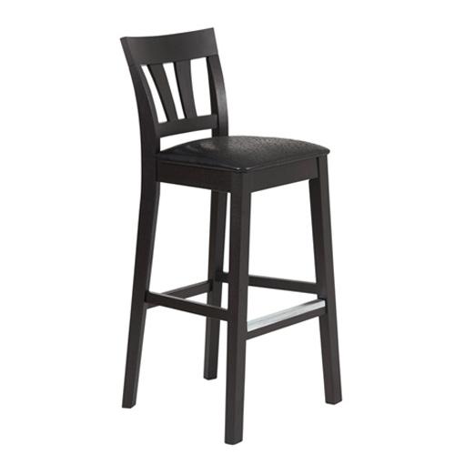 Inzel barstol svart