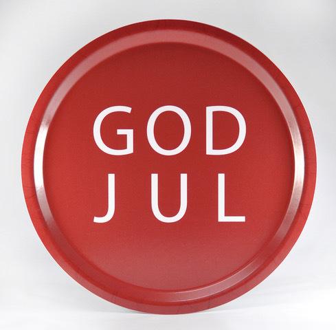 Mellow Design bricka God Jul