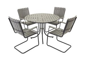 Holmsund matgrupp med 4 stolar