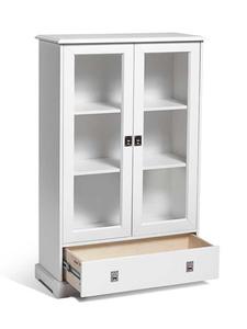 Mavis Smögen vitrinskåp med låda